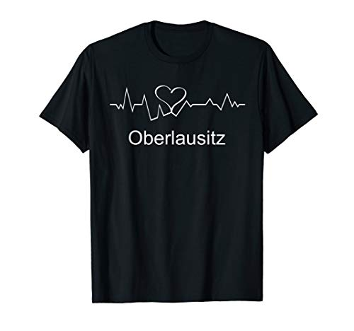 Oberlausitz Lausitz Ostsachsen Geschenk T-Shirt