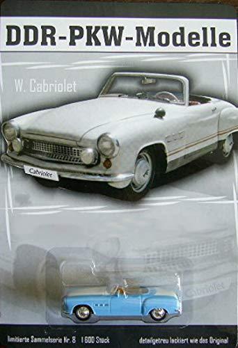 DDR PKW-Modell Wartburg Cabriolet - Nr. 8