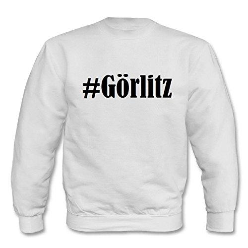 Reifen-Markt Sweatshirt #Görlitz Größe XL Farbe Weiss Druck Schwarz