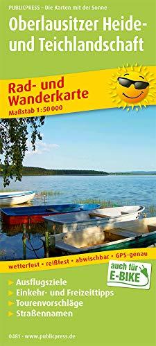 Oberlausitzer Heide- und Teichlandschaft: Rad- und Wanderkarte mt Ausflugszielen, Einkehr- & Freizeittipps, wetterfest, reißfest, abwischbar, GPS-genau. 1:50000 (Rad- und Wanderkarte: RuWK)
