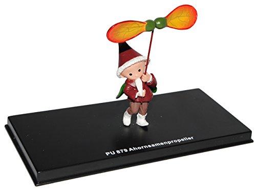 alles-meine.de GmbH unser Sandmännchen Figur - Ahornsamenpropeller PU 879 - Set incl. Vitrine - Miniatur Figur Traummobile - Sandmann - Sammlermodell - Sammelfigur auch für Puppe..