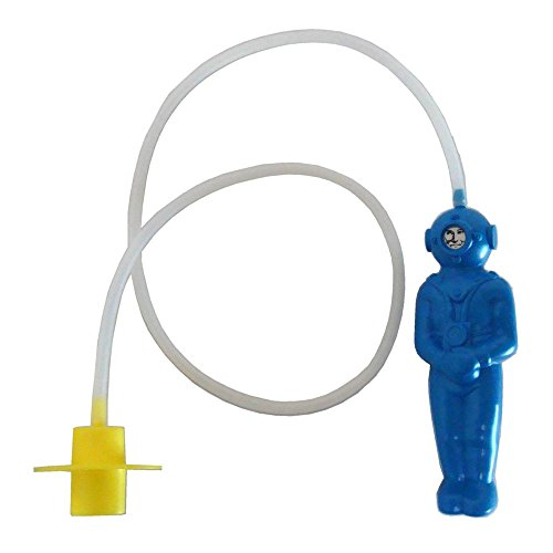 'Der kleine Tiefseetaucher' in blau