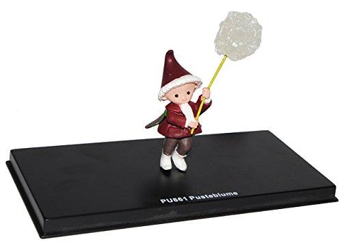 alles-meine.de GmbH unser Sandmännchen Figur - Pusteblume PU 861 - Set incl. Vitrine - Miniatur Figur Traummobile - Sandmann - Sammlermodell - Sammelfigur auch für Puppenstube - ..