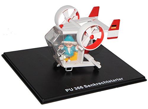 alles-meine.de GmbH unser Sandmännchen Figur - Senkrechtstarter PU 366 - Set incl. Vitrine - Miniatur Figur Traummobile - Sandmann - Sammlermodell - Sammelfigur auch für Puppenst..
