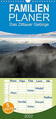 Das Zittauer Gebirge - (Wandkalender 2022, 21 cm x 45 cm, hoch)