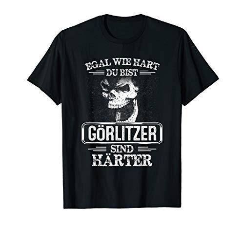 Görlitzer sind härter Städte Kleidung Stadt Görlitz T-Shirt