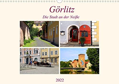 Görlitz - Die Stadt an der Neiße (Wandkalender 2022 DIN A3 quer)