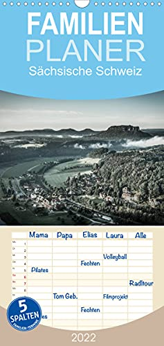Sächsische Schweiz (Wandkalender 2022, 21 cm x 45 cm, hoch)