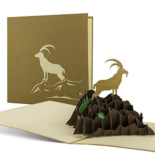 Wandergutschein, Einladung zum Klettern, Gutcheinkarte als Reisegutschein für Wandern in Bayern oder in der Schweiz, Ausflug, Bergsteigen, Geschenk, H09