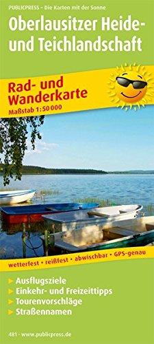 Oberlausitzer Heide- und Teichlandschaft: Rad- und Wanderkarte mt Ausflugszielen, Einkehr- & Freizeittipps, wetterfest, reißfest, abwischbar, GPS-genau. 1:50000 (Rad- und Wanderkarte / RuWK)
