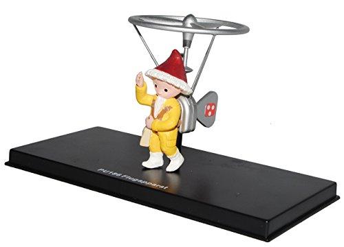 alles-meine.de GmbH unser Sandmännchen Figur - Flugapparat PU 186 - Set incl. Vitrine - Miniatur Figur Traummobile - Sandmann - Sammlermodell - Sammelfigur auch für Puppenstube -..