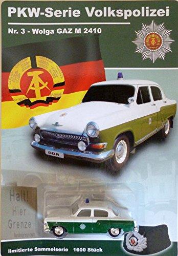 DDR PKW-Modell - Wolga GAZ 2410 - Volkspolizei Sammelserie Nr. 3
