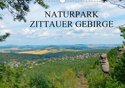 Naturpark Zittauer Gebirge (Wandkalender 2021 DIN A3 quer)