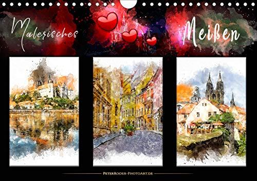 Malerisches Meißen (Wandkalender 2021 DIN A4 quer)