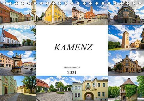 Kamenz Impressionen (Tischkalender 2021 DIN A5 quer)