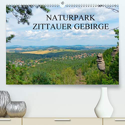 Naturpark Zittauer Gebirge (Premium, hochwertiger DIN A2 Wandkalender 2021, Kunstdruck in Hochglanz)