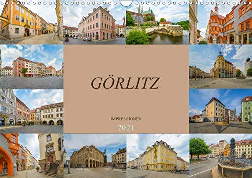 Görlitz Impressionen (Wandkalender 2021 DIN A3 quer)