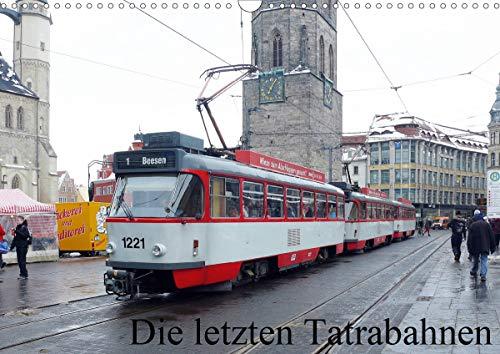 Die letzten Tatrabahnen (Wandkalender 2021 DIN A3 quer)