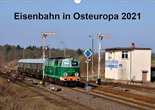 Eisenbahn Kalender 2021 - Oberlausitz und Nachbarländer (Wandkalender 2021 DIN A3 quer)