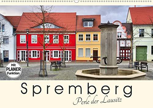 Spremberg - Perle der Lausitz (Wandkalender 2021 DIN A2 quer)
