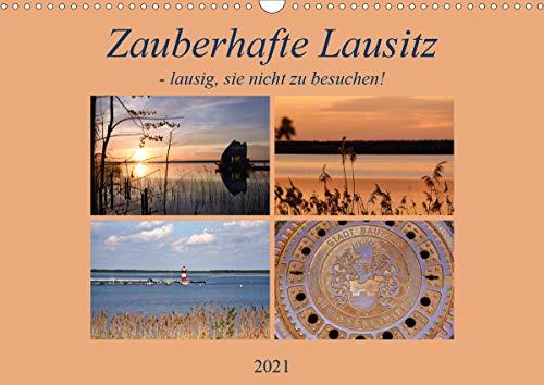 Zauberhafte Lausitz (Wandkalender 2021 DIN A3 quer)