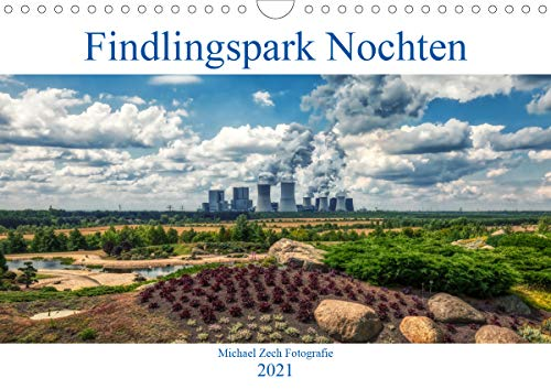 Der Findlingspark in der Lausitz (Wandkalender 2021 DIN A4 quer)