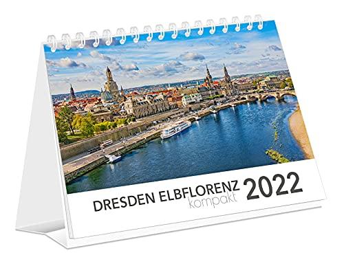Kalender Dresden Elbflorenz kompakt 2022 | Tischkalender | 21 x 15 cm: 21x15cm - Tischkalender