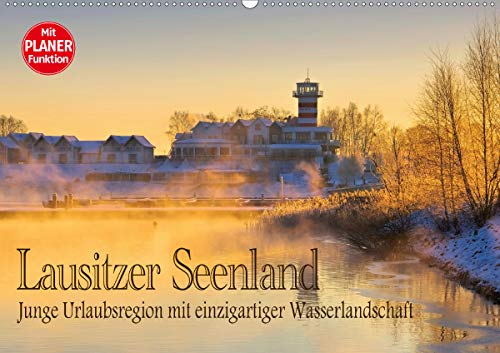 Lausitzer Seenland - Junge Urlaubsregion mit einzigartiger Wasserlandschaft (Wandkalender 2020 DIN A2 quer): Streifzug durch die entstehende ... 14 Seiten ) (CALVENDO Orte)