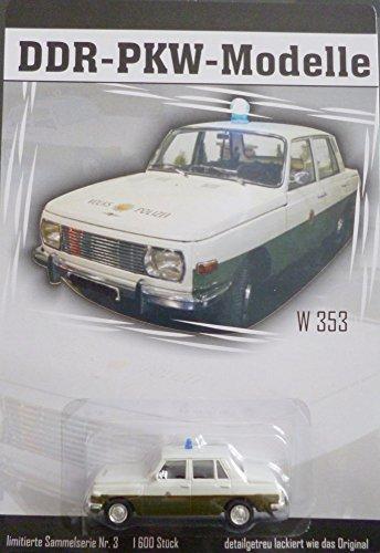 DDR PKW-Modell - Wartburg 353 - VOLKSPOLIZEI - Nr. 3