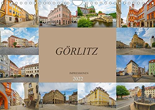 Görlitz Impressionen (Wandkalender 2022 DIN A4 quer)