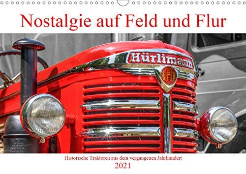 Nostalgie auf Feld und Flur (Wandkalender 2021 DIN A3 quer)