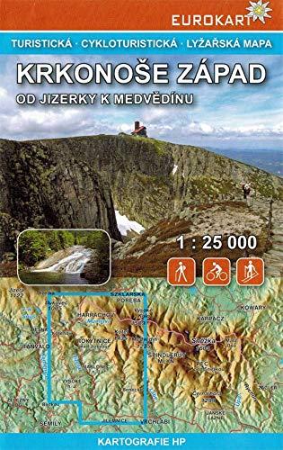 Wanderkarte Riesengebirge Westteil - Krkonoše západ