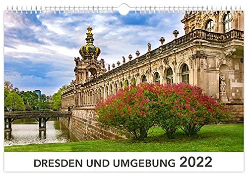 Kalender Dresden und Umgebung 2022   45 x 30 cm