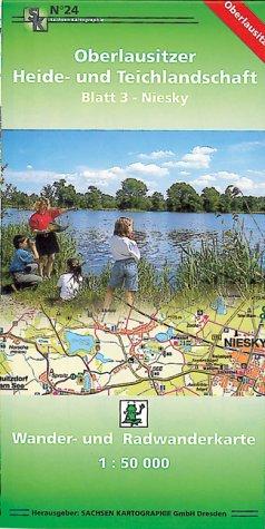 Oberlausitzer Heide- und Teichlandschaft - Blatt 3 Niesky: Wander- und Radwanderkarte. 1:50000