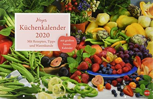Küchenkalender Broschur XL. Wandkalender 2020. Monatskalendarium. geheftet. Format 45 x 30 cm