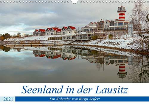 Seenland in der Lausitz (Wandkalender 2021 DIN A3 quer)
