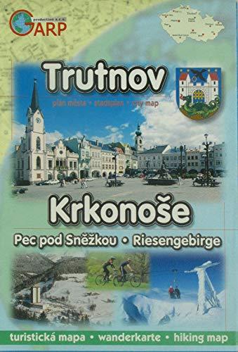 Stadtplan Trutnov / Wanderkarte Riesengebirge