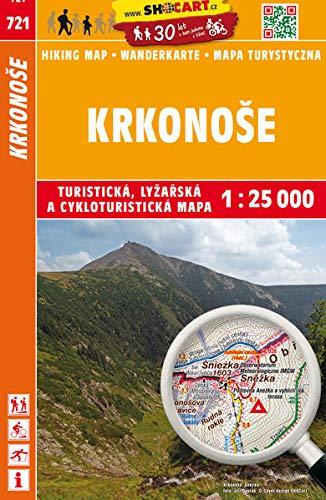 Krkonoše / Riesengebirge (Wander - Radkarte 1:25.000) (SHOCart Wander - Radkarte 1:25.000 Tschechien, Band 721)