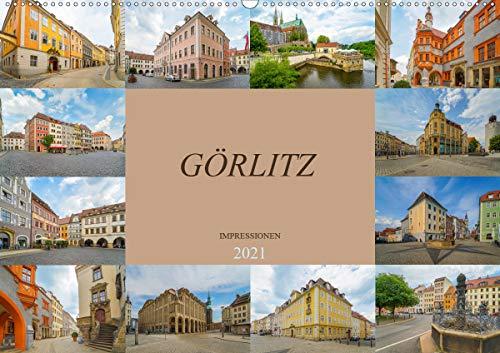 Görlitz Impressionen (Wandkalender 2021 DIN A2 quer)