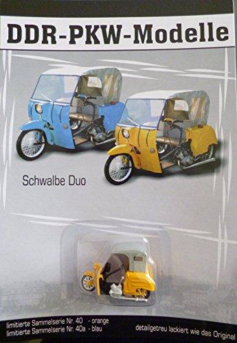 DDR PKW-Modell - Simson Krause Duo orange - Nr.40