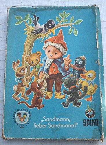 Spielbrett Spika Sandmann lieber Sandmann DDR Sandmännchen-Spiel Spielbrett 60er Ostalgie - kein Retro