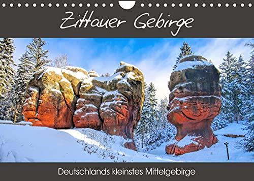 Zittauer Gebirge - Deutschlands kleinstes Mittelgebirge (Wandkalender 2022 DIN A4 quer)
