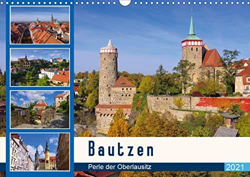 Bautzen - Perle der Oberlausitz (Wandkalender 2021 DIN A3 quer)