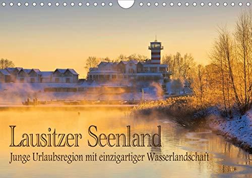 Lausitzer Seenland - Junge Urlaubsregion mit einzigartiger Wasserlandschaft (Wandkalender 2021 DIN A4 quer)