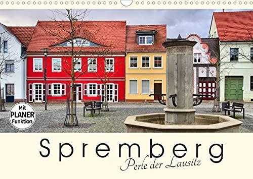 Spremberg - Perle der Lausitz (Wandkalender 2022 DIN A3 quer)