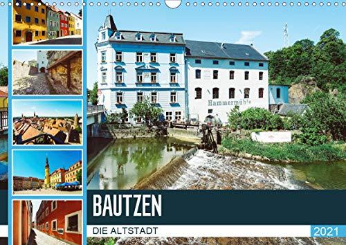 Bautzen Die Altstadt (Wandkalender 2021 DIN A3 quer)