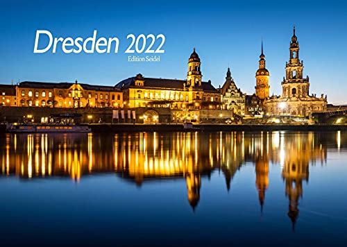 Edition Seidel Premium Kalender Dresden 2022 DIN A3 Wandkalender Deutschland