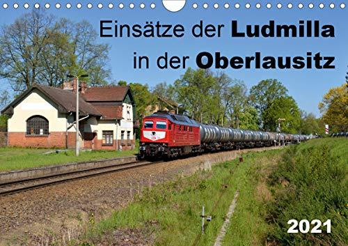 Einsätze der Ludmilla in der Oberlausitz 2021 (Wandkalender 2021 DIN A4 quer)