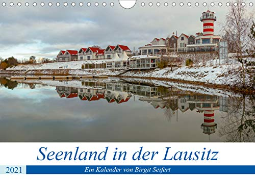 Seenland in der Lausitz (Wandkalender 2021 DIN A4 quer)