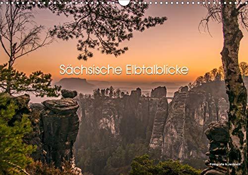 Sächsische Elbtalblicke (Wandkalender 2021 DIN A3 quer)
